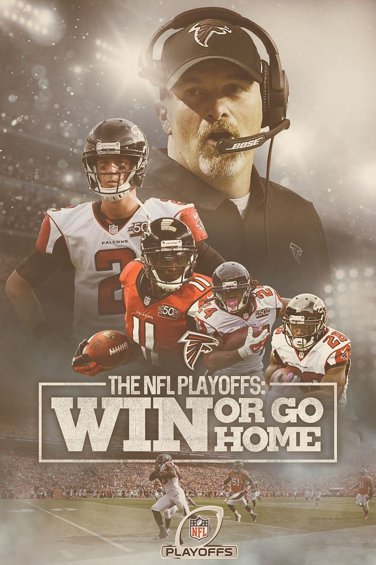 #RiseUp Social Media concept for the Atlanta Falcons playoff run