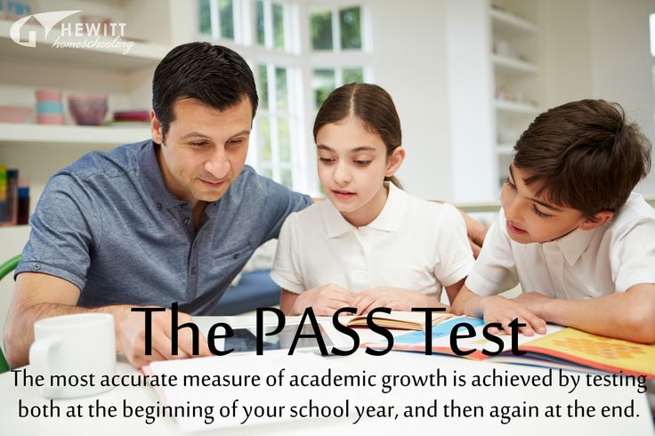The most accurate measure of academic growth is achieved by testing both at the beginning of your school year, and then again at the end. If that sounds like something you and your student need, our PASS test is for you.