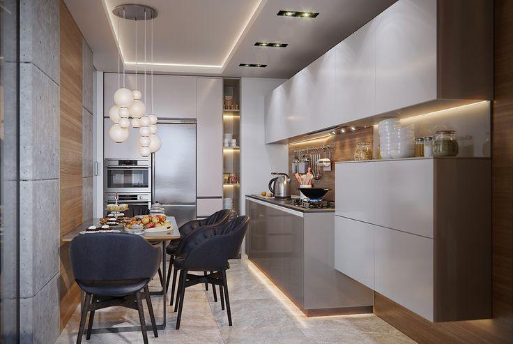 Kitchen_3 on Behance