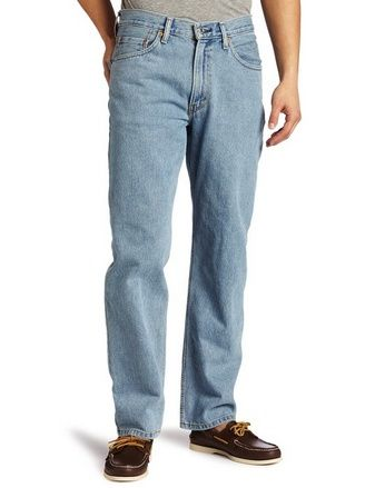 Levi s Men s 550 Relaxed Fit Jean, Light Stonewash, Relaxed-fitting jean  featuring natural rise and classic five-pocket design Actual coloration may  vary ... e5e4997bf7