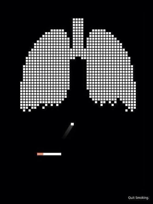 The most clever anti-smoking advertisement ever - Imgur | Pinned by http://www.thismademelaugh.com