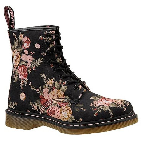 Dr Martens 1460 8 Eye Boot ($135) ❤ liked on Polyvore featuring shoes, boots, black, dr martens footwear, ski boots, dr martens shoes, ski shoes and dr. martens