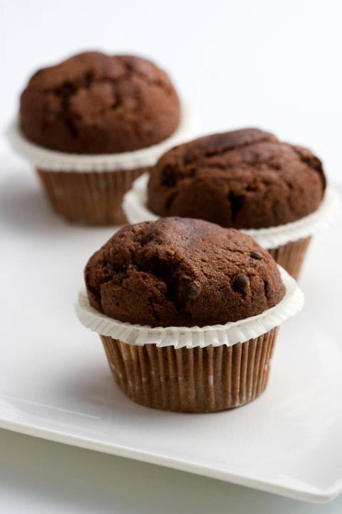 Chocolate muffins / Czekoladowe muffinki