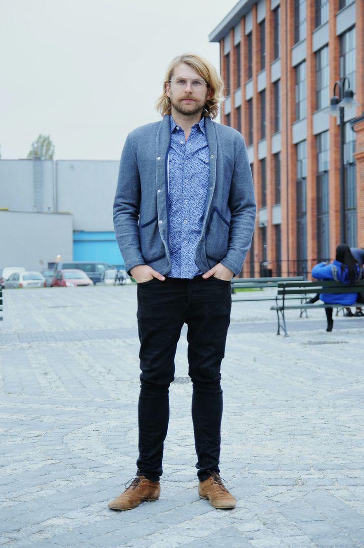 Robert, 28 - ŁÓDŹ LOOKS www.facebook.com/lodzlooks #fashionweekpoland #fashionphilosophy #lodz #lodzlooks #fashionweek