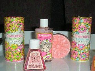 Tinkerbell Cosmetics... i loooooooved the way these smelled!