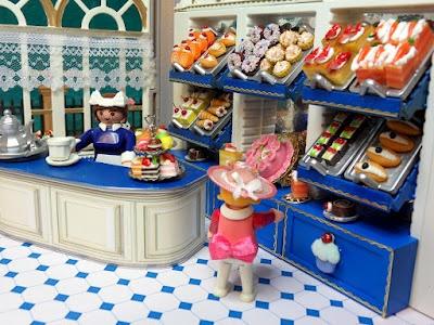 Playmobil snoepjeswinkel met poppetjes&accessoires
