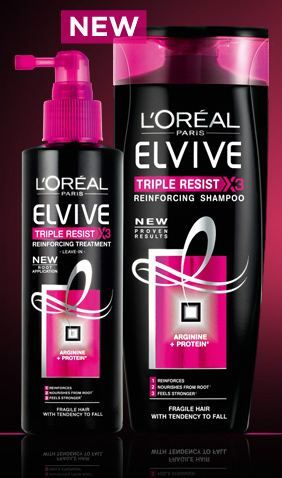 Get a free sample of L'Oreal Elvive shampoo!