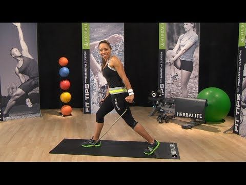 RESISTANCE BAND WORKOUT Samantha Clayton's Body Blast | Herbalife Fit Tips Herbalife brings you a simple way to get into shape, no need to join gym if you don't want to & this is inexpensive  http://www.goherbalife.com/4unow