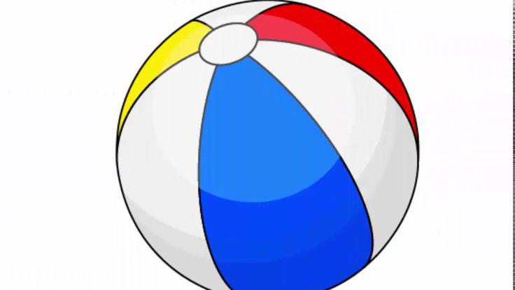 Beach ball - Adobe Illustrator cs6 tutorial. How to draw simple summer i...