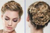 Hochzeitsfrisuren Kurzes Haar - #Haar #Frisuren #Kurz #Hochzeit