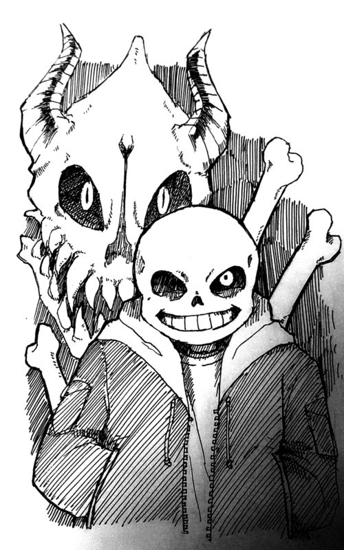 Image de sans, undertale, and black