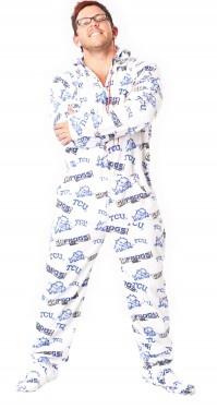 TCU Footie Pajamas. OMG I WANT THESE!!!