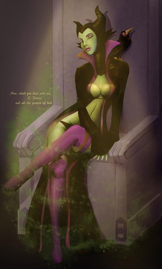 Malificent my favorite evil queen!!!