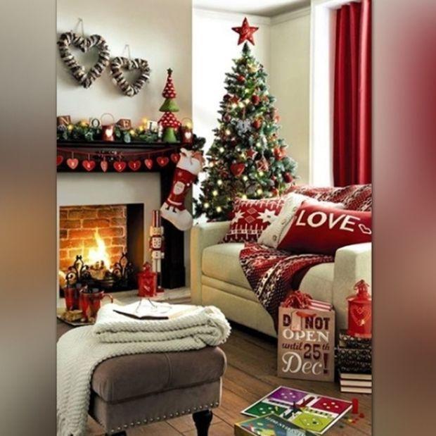 Ιδέες διακόσμησης: Χριστουγεννιάτικο σπίτι σε χρόνο... dt!