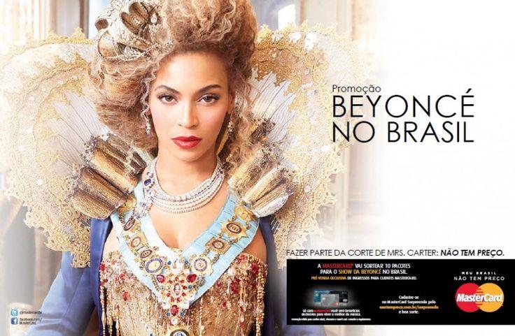 """Bom dia, Betty people! Como super fãs de Beyoncé, a gente adorouesse sorteio e temos certeza que vocês também gostarão: a MasterCard,patrocinadora global da turnê """"The Mrs Carter Show World Tour"""", está fazendo uma promoção chamada """"Beyoncé no Brasil"""". O prêmio? Vários ingressos para o show de BeyBey em Setembro em São Paulo! Uhuuuu! Serão …"""