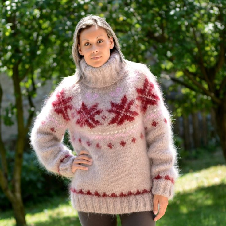 https://extravagantza.com/icelandic-sweater/161-icelandic-hand-knit-mohair-sweater-beige-and-red-fuzzy-turtleneck-nordic-.html
