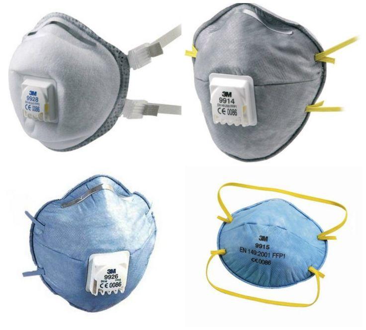 #Półmaski filtrujące marki #3M - doskonała jakość, niezawodna ochrona dróg oddechowych. Hurtownia artykułów #BHP