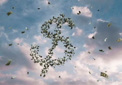happy/money