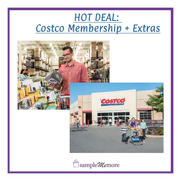Super hot Costco Membership Deal + Free Extras!