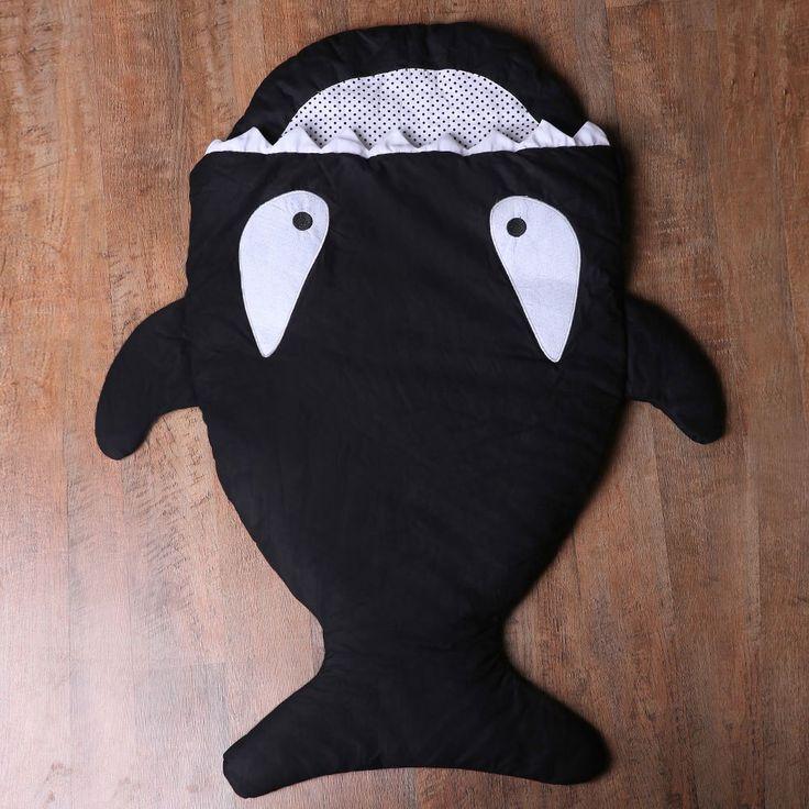 Cute Shark Blanket by Blankie Tails Sleeping Bag For Kids
