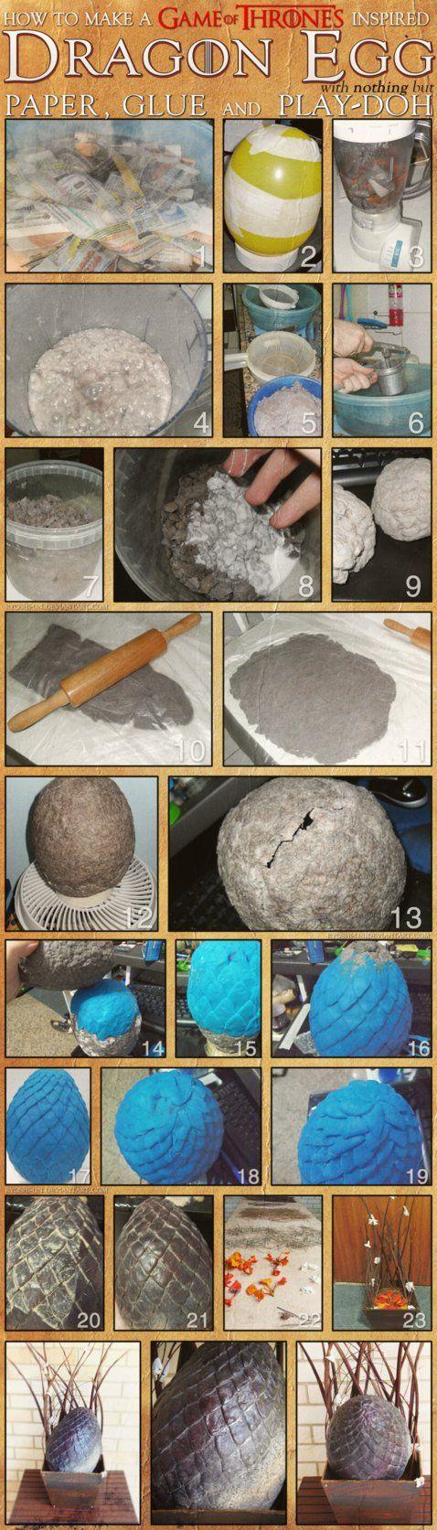How To Make A Dragon Egg By ~ryoshiun On Deviantart