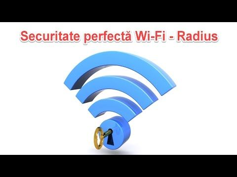 Securitate maxima Wi-Fi cu server Radius aka. WPA Enterprise #videotutorial #WiFiSecurity