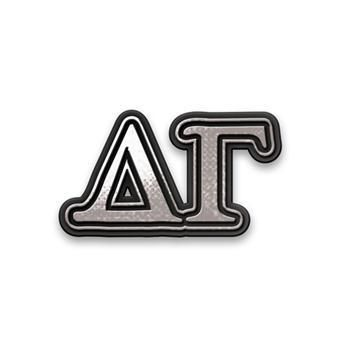 Delta Gamma Sorority Chrome Car Emblem - Brothers and Sisters' Greek Store