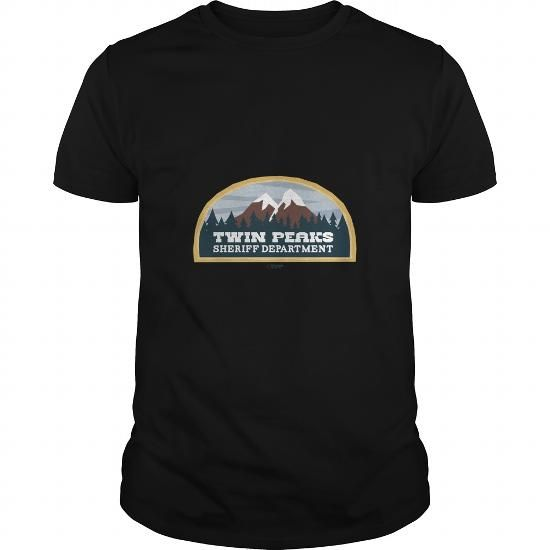 I Love Twin Peaks Sheriff Department T-Shirts