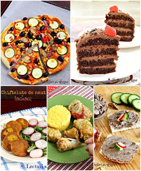 Ce poti pregati pentru un meniu festiv de post (vegan)