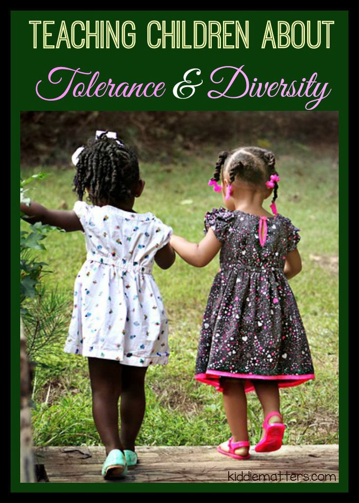 Teaching Children About Tolerance and Diversity #diversity #tolerance #activities