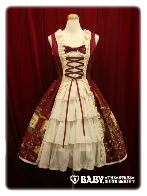 Alice and the Pirates - Poison de lámour Princess JSK in Red