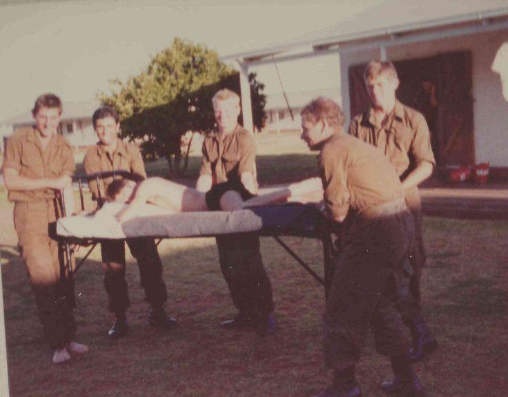 Basics at 2nd Maintenance, at Diskobolos in Kimberley, 1981