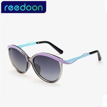 Reedoon Nuevas Mujeres gafas de Sol de Moda Gafas de Sol Polarizadas Gafas de Sol Polaroid Mujeres Marca Diseñador Conducción Oculos 60BIQ
