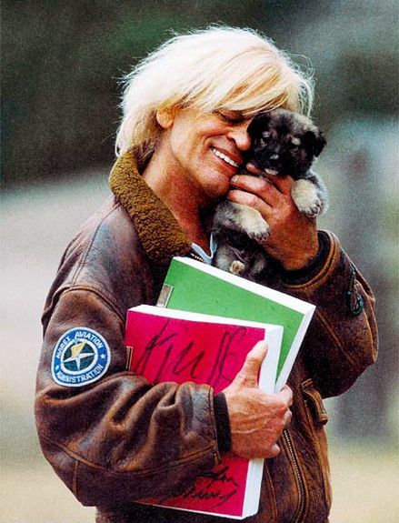 Klaus Kinski Pictures of famous people posing with animals