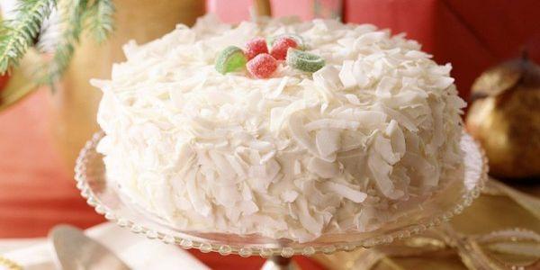 Белоснежный торт Рафаэлло