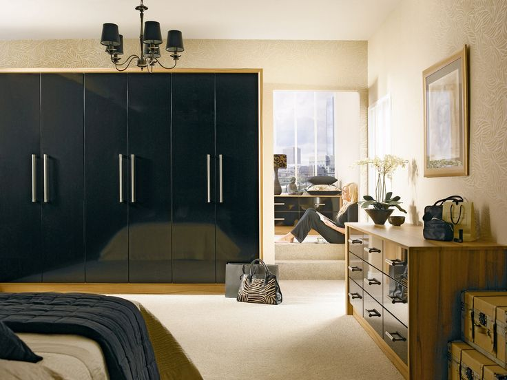 Modern Bedroom Cupboards photo