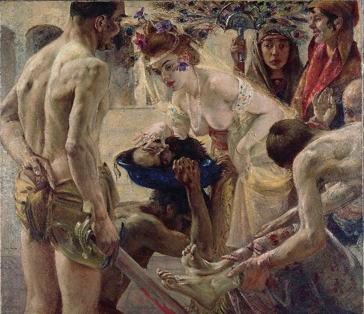 Salome II, 1900 - Lovis Corinth