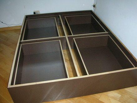 Fotos de Vende-se Cama em MDF com 4 gavetas, cabeceira e 2 criados Cotia