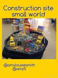 Construction site small world