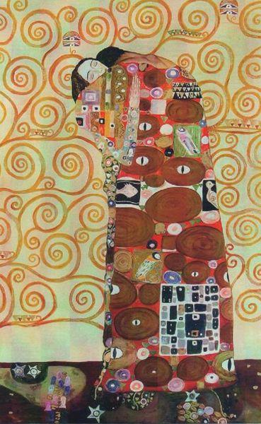 The embrace, Klimt Gustav