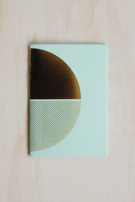 Buy Lovely Pigeon - Brassbook (10 x15cm) - Mint - NoteMaker Stationery