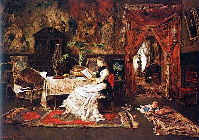 Munkácsy Mihály: Párizsi szobabelső, 1877
