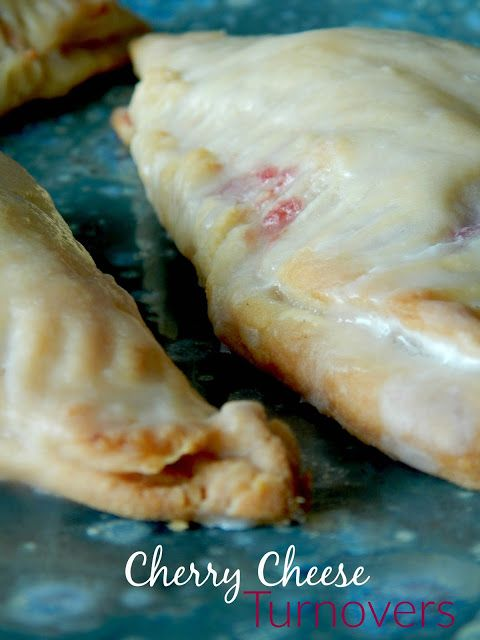 Sweet-and-Sour Cherry Turnovers With Goat Cheese Cream ...