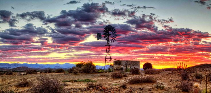 Sunset over Great Karoo by Stephan Jaggy on 500px