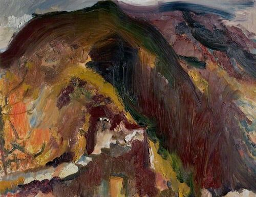 David Bomberg - The Moorish Wall, Cyprus (1948)