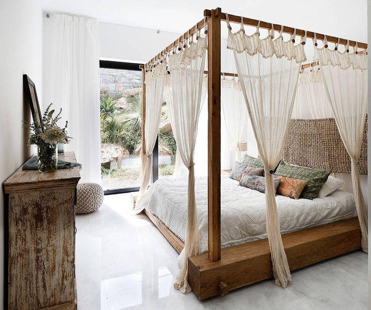 10 dormitorios rústicos y románticos #dormitorios #estilorustico #decoracion https://www.homify.es/libros_de_ideas/114190/10-dormitorios-rusticos-y-romanticos