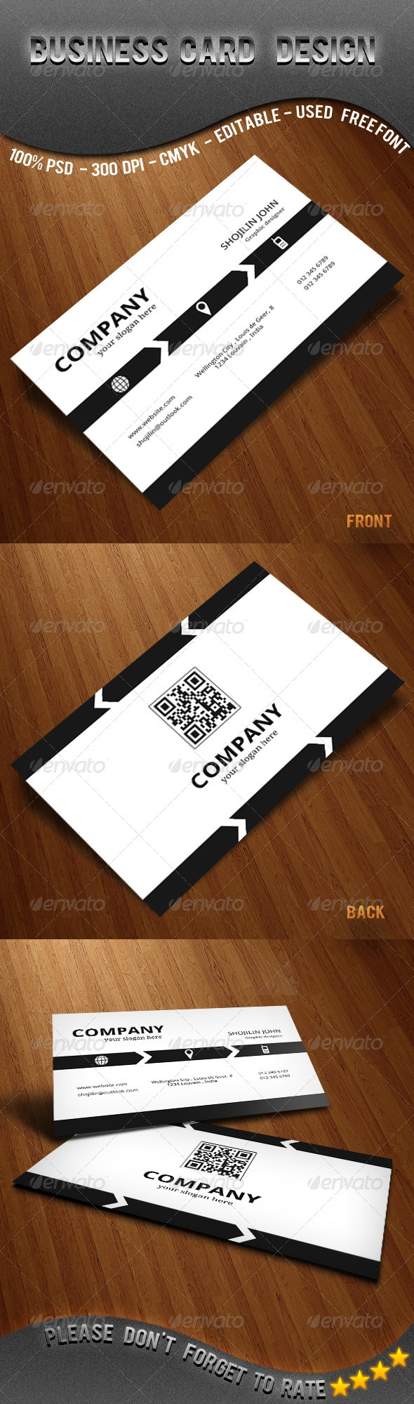 corporate business card design - #corporate #design