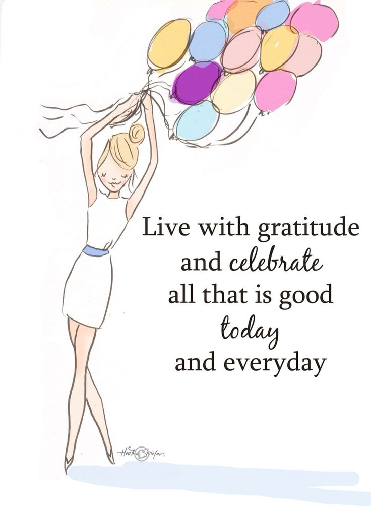 Live with gratitude and celebrate... - Rose Hill Designs: Heather Stillufsen