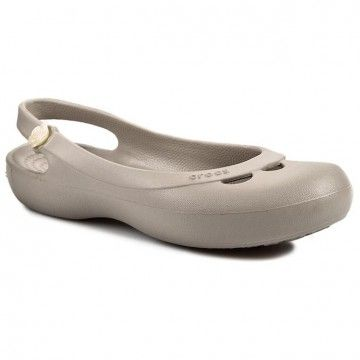 Sandały CROCS - Jayna W 11851 Platinum