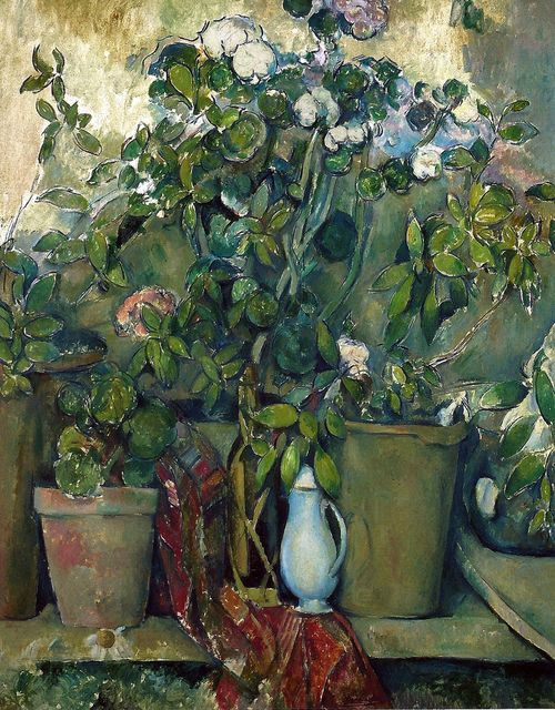 Paul Cézanne - Potted Plants, 1890 at the Barnes Foundation Philadelphia PA (by mbell1975)